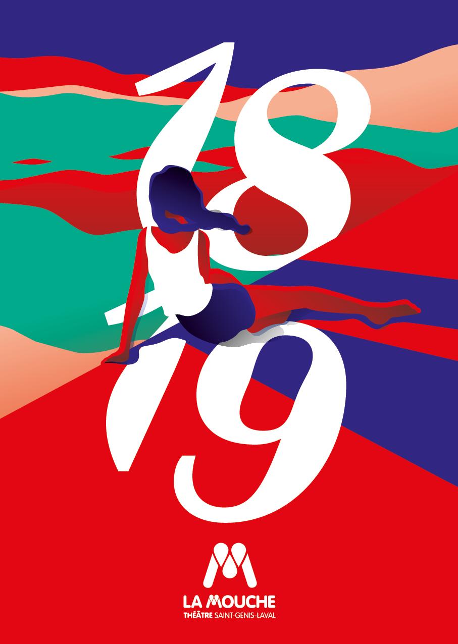 Mouche Affiches lancement saison